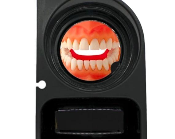Teeth Round Sandstone Car Cupholder Coaster