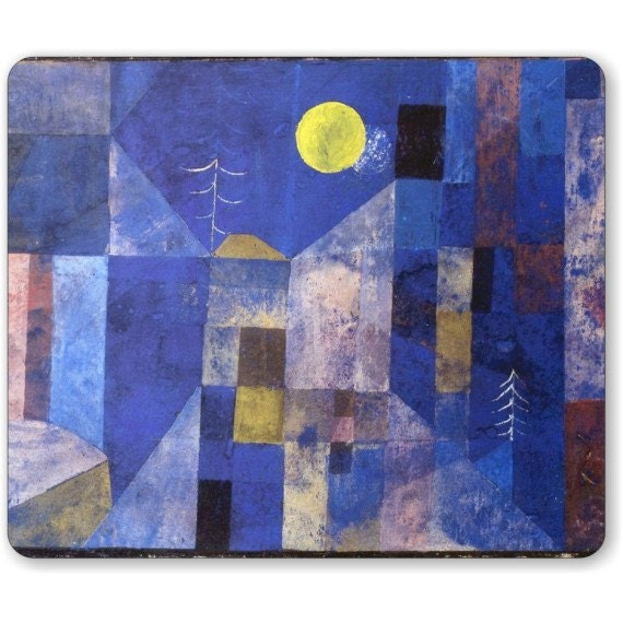 Paul Klee Moonlight Painting Mousepad