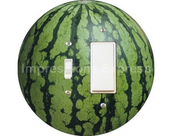 Watermelon Fruit Toggle and Decora Rocker Switch Plate Cover