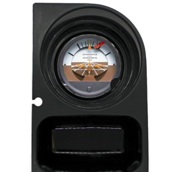 Attitude Indicator Aviation Round Sandstone Car Cupholder Coaster