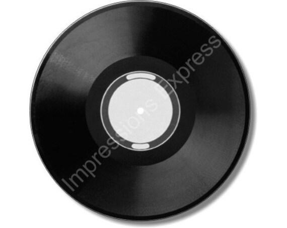 Vinyl Record Round Mousepad