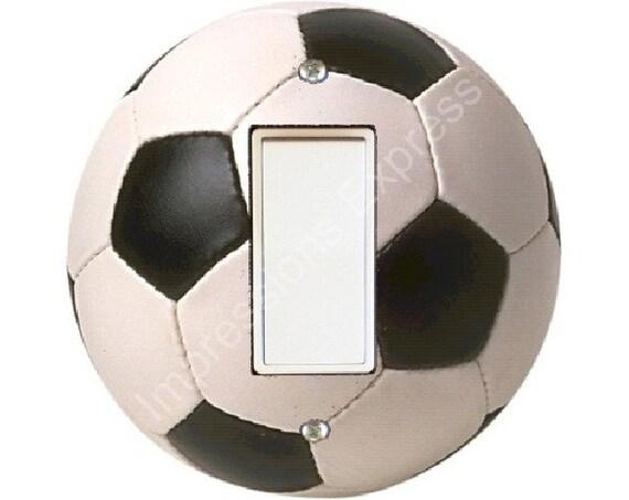 Soccer Sports Ball Decora Rocker Switch Plate Cover A