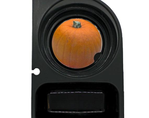 Pumpkin Round Sandstone Car Cupholder Coaster