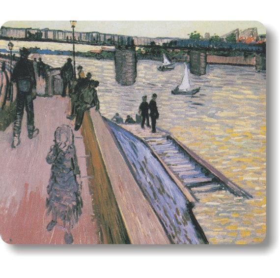The Bridge of Triquetaille Van Gogh Painting Mousepad