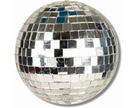 Disco Ball Round Mousepad