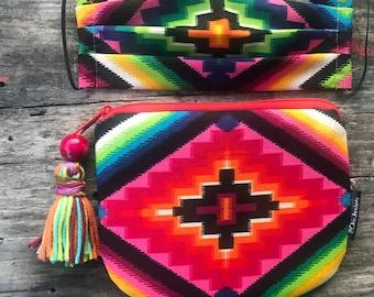 Aztec Print Mask and Bag Set