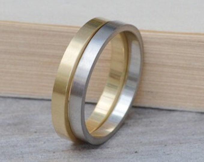 2mm Wedding Band, Silver Wedding Band, Gold Wedding Band, Platinum Wedding Band, Plain Wedding Ring
