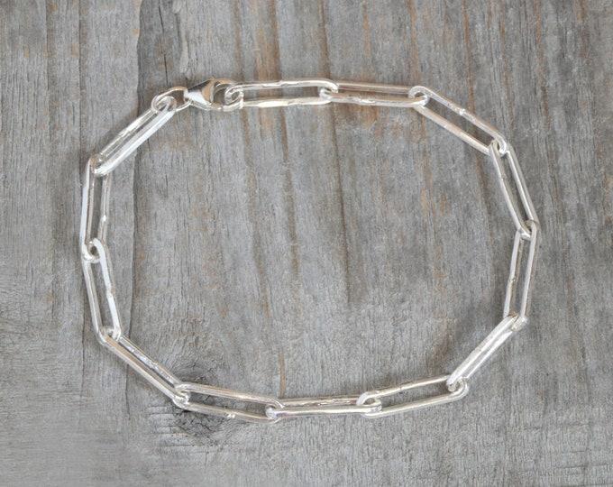 Rustic Bracelet in Sterling Silver