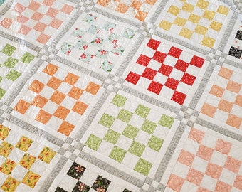 Patchwork Garden 2 Quilt Paper Pattern #185