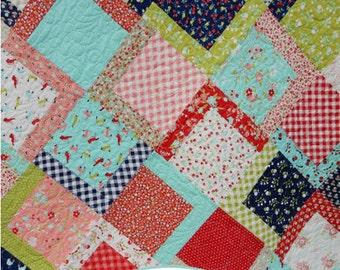 Picnic Quilt Pattern PDF