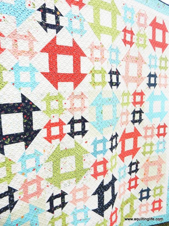 Lattice Quilt Pattern Pdf Etsy