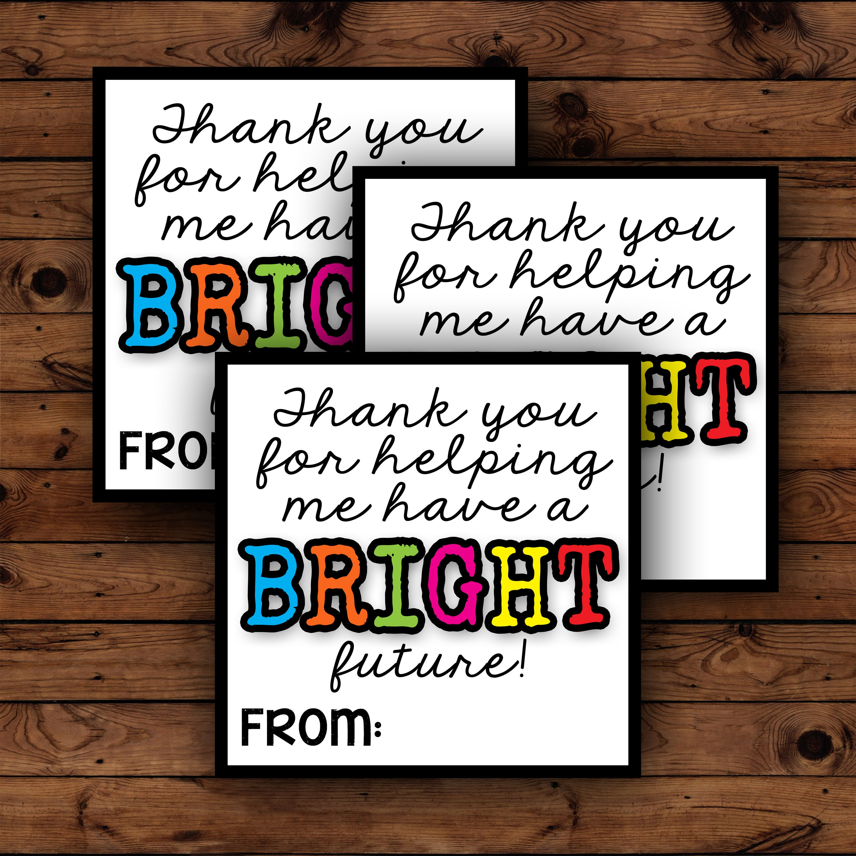 Printable Teacher Appreciation Gift Teacher Appreciation Week Gift For Teacher Appreciation Day Teacher Thank You Gift Printable Teacher