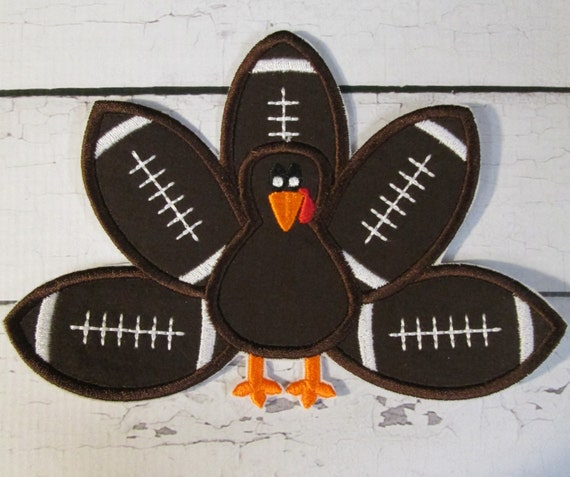 Football Team Turkey - Iron On or Sew On Embroidered Custom Made Applique