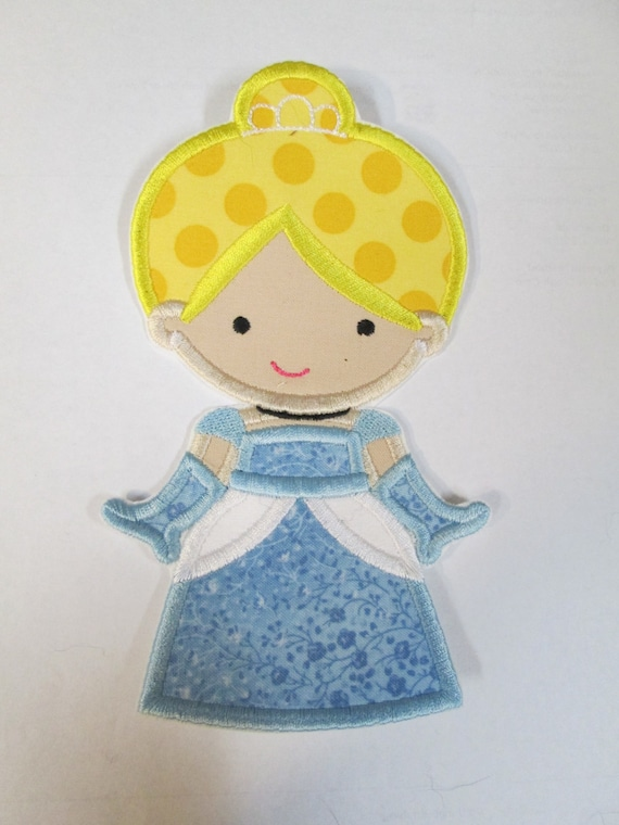 Prince and Princess Dolls, Iron On Applique Patch, Sew On, Custom Made, Embroidered, Patches