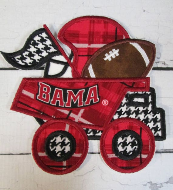 Cheer Truck, Sports, Truck, Team Spirit, Football, Iron On Applique Patch, Sew On, Custom Made, Embroidered, Patches