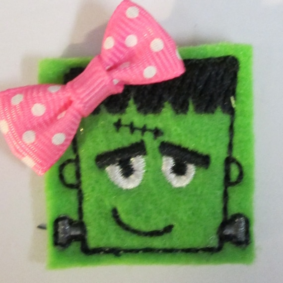 Felt Applique Patch - Embroidered Felt - Sew On or Glue On - Patches - Felt - Handmade