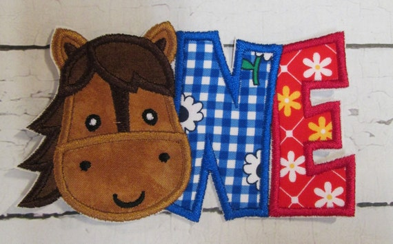 Horse One, Horse Two, Cow One, Cow Two Applique Patches, Handmade, Custom Made For You