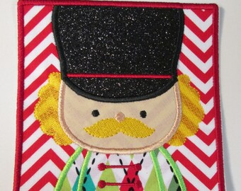 Christmas Nutcracker Box - Iron on or Sew on Applique