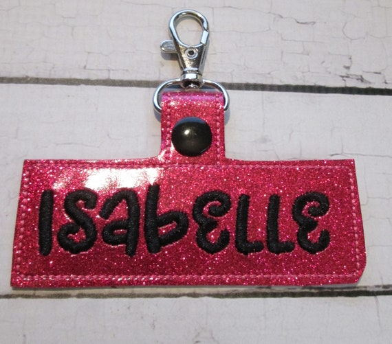 Snap Tabs, Personalized Name Plate
