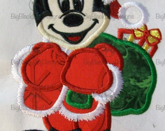 Christmas Character Dolls - Iron On or Sew On Embroidered Applique
