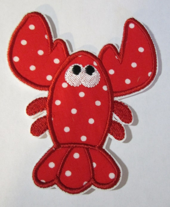 Iron On Applique - Lobster