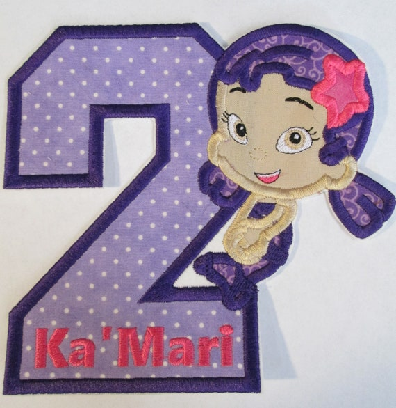 Kids with Numbers or Letters, Iron On Applique Patch, Sew On, Custom Made, Embroidered, Patches
