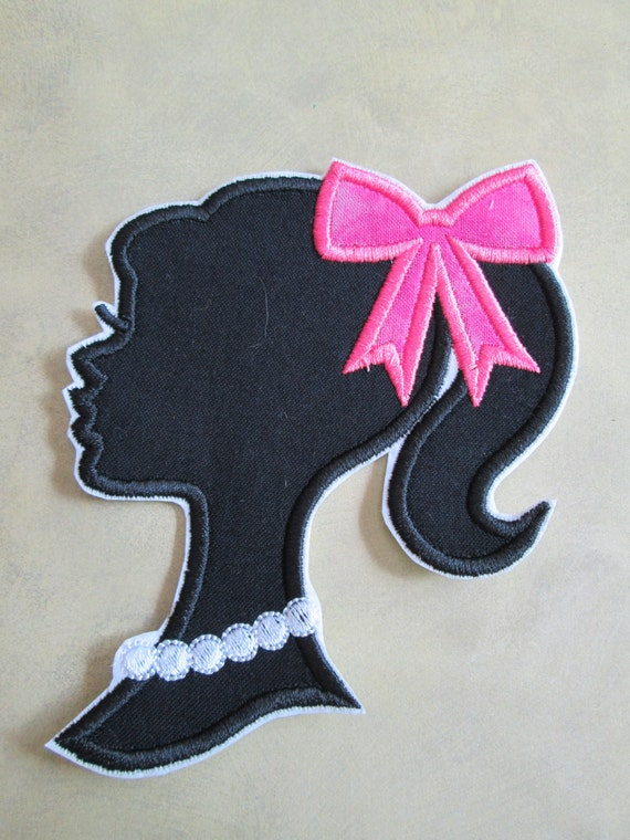 Iron On Applique -  Doll Silhouettes