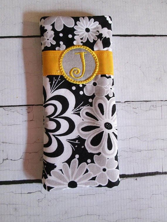 Elaine EyeGlass Case - Eye Glass Case - Glasses - Case - Handmade - Custom Made - Monogram Included