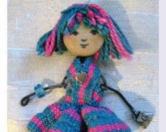 Inkle Woven Darling Little Dolls PDF Pattern