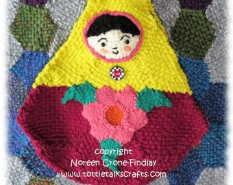 Matroushka Doll Bag to Weave on Hexagon Looms