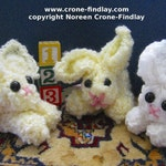 1,2,3 Easy as Can Be Cute and Cuddly Critters to Weave on the Potholder Loom by Noreen Crone-Findlay (c)