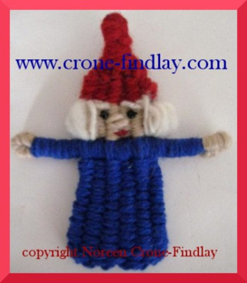 Gnome Dolls And Gnome House To Weave On The Potholder Loom