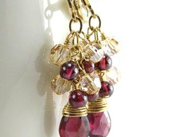 Gemstone Red Pink Yellow