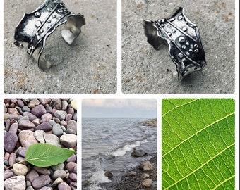 Argentium Silver Cuff Bracelet