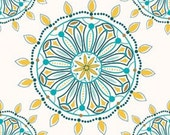 Multi Colored Medallion Flower Indie Chic Fabric - Riley Blake-EOB