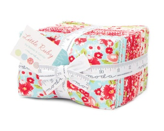 Little Ruby Fat Eighths Fabric - Moda - Bonnie and Camille - 40 F8