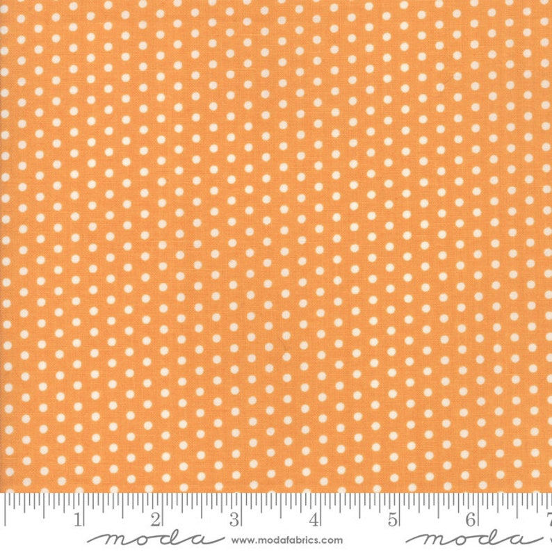 Moda FARMHOUSE II Pumpkin 20322 12 Quilt Fabric By The Yard By Fig Tree /& Co
