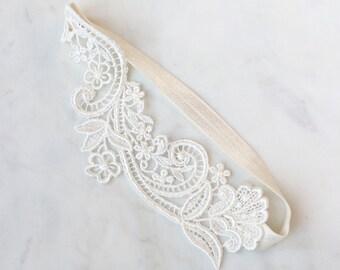 Wedding Garter   Lace Wedding Garter   Lace Garter   Bridal Garter   Brides Garter   Floral Garter   Boho Garter [Lola Garter]