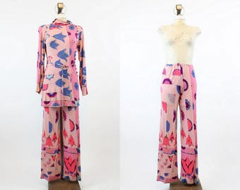 1960s RARE Bessi Tunic And Pants Xs