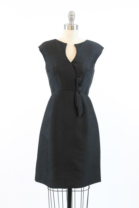 50s Suzy Perette dress xs | vintage silk bow dress - image 2