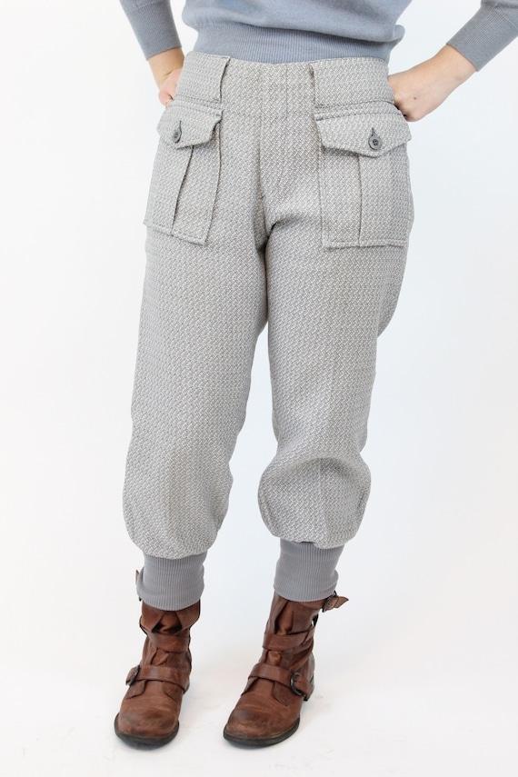 1960s LEVIS sportswear trousers   work wear knit … - image 7