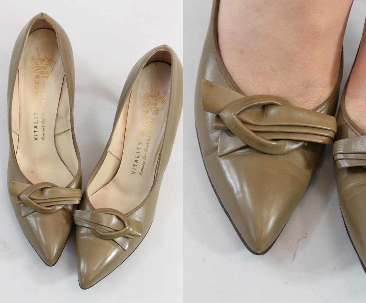 chaussures taille , n /  cuir pompes / anouk talons en cuir  03bb9f