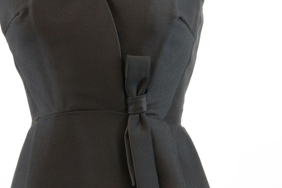 50s Suzy Perette dress xs | vintage silk bow dress - image 3