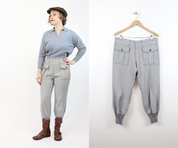 1960s LEVIS sportswear trousers | work wear knit p