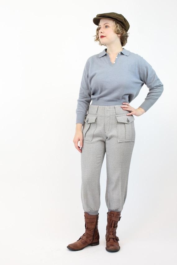 1960s LEVIS sportswear trousers   work wear knit … - image 2