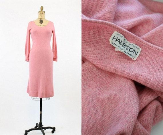 1970s  Halston cashmere dress | vintage designer … - image 1