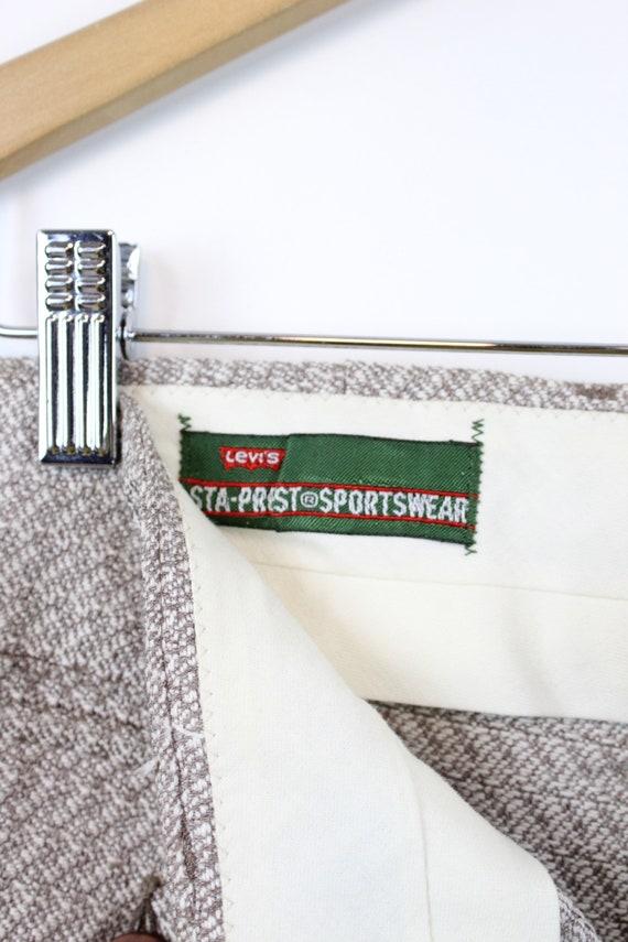 1960s LEVIS sportswear trousers   work wear knit … - image 8