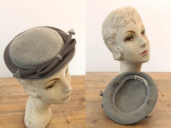 1940s tilt hat   arrow fascinator   I. Magnin - image 1