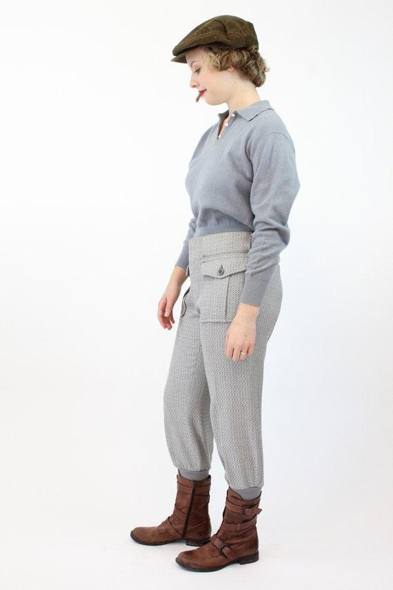 1960s LEVIS sportswear trousers   work wear knit … - image 5