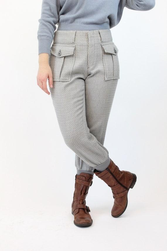 1960s LEVIS sportswear trousers   work wear knit … - image 3